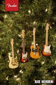 new 2014 mini fender guitar ornaments axe heaven