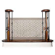 Baby Gates For Bottom Of Stairs With Banister Hardware Mounted Baby Gates U2013 Top Of Stairs Walk Through Metal