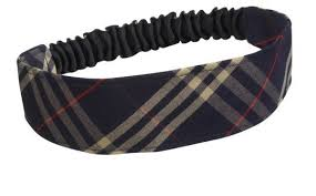 elastic headband plaid elastic headband ideal store