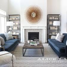 Living Room Blue Sofa Living Room Decor Room Navy Blue Living Furniture Sofa Throw