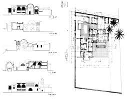 moroccan riad floor plan fouad riad house design drawing ground floor plan with sections