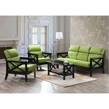 Wooden Sofa Set Pictures Sets Trevio Solid Wood Sofa Set
