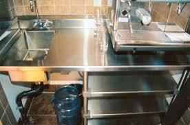 Kitchen Sink Shelves - stainless u0026 custom stainless kitchen u0026 food prep
