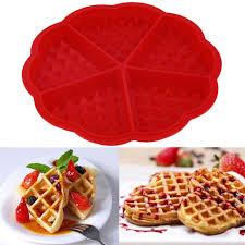 Aliexpress Com Buy 1pc Heart Shape Waffle Mold Maker 5 Cavity