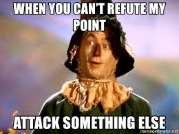Wizard Of Oz Meme Generator - when you can t refute my point attack something else wizard of oz
