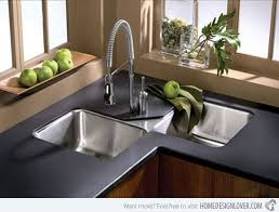 corner kitchen sink design 15 cool corner kitchen sink designs corner sink sinks and corner