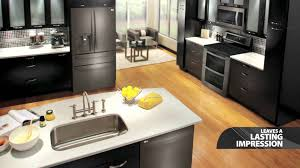 lg black stainless steel kitchen appliances youtube