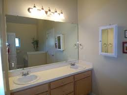 big bathroom mirror how to update a big bathroom mirror image bathroom 2017