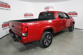 Toyota Tacoma Exterior Door Handle by New 2017 Toyota Tacoma Trd Sport Double Cab Pickup In Escondido
