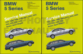 1997 2003 bmw 5 series bentley repair shop manual 2 volume set