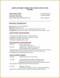 Resume Sample Latest by And Writing Latest Example Of A Resume Format Resume Format Sample