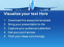 takeoff travel powerpoint templates and powerpoint backgrounds