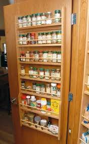 Spice Cabinets With Doors 7 Shelf Door Mounted Spice Rack Casa Pinterest Door Mounted