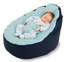 amazon com bayb brand baby bean bag filled blue infant