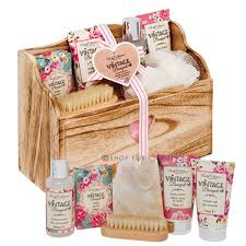 bath and gift sets collection vintage bouquet toiletry christmas