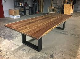 Black Walnut Table Top by Dining And Conference Tables U2014 Higgins Fabrication