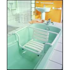 siège pour baignoire handicapé siège de baignoire avec dossier