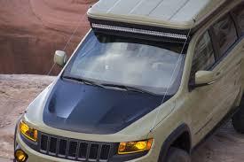 2015 jeep cherokee light bar easter jeep safari 2015 grand cherokee overlander 19 lightbar