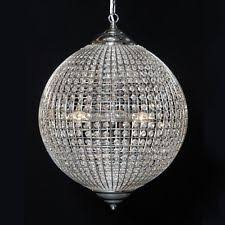 Crystal Sphere Chandelier Simple Crystal Globe Chandelier With Additional Interior Design