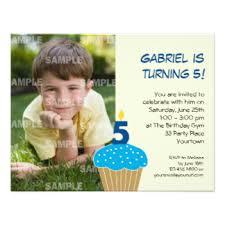 5th birthday party invitations u0026 announcements zazzle