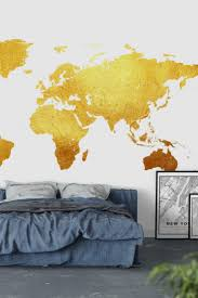 33 best map wall murals images on pinterest photo wallpaper golden world map wall mural wallpaper