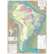 Regions Of South America Map by Tectonic Map Of South America Ccgm Cgmw
