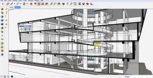tutorial sketchup autocad how to make 3d render section in sketchup tutoriales pinterest