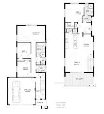 house narrow townhouse plan narrow free home design images