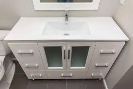 mid century modern bathroom vanity with sink all modern home designs