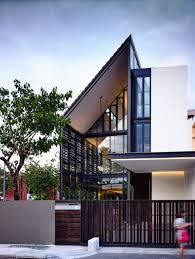 Contemporary Housing Hyla Architects Have Designed U0027lines Of Light U0027 A 2 Storey Corner