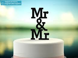 mr and mr cake topper mr mr black wedding cake topper original cake toppers