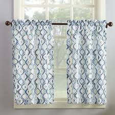 Hypoallergenic Curtains Country Blue Kitchen Curtains Wayfair