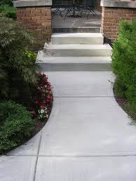 Brushed Concrete Patio Concrete Sidewalk Construction Indianapolis Concrete Contractor