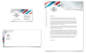 barbershop business card u0026 letterhead template design design