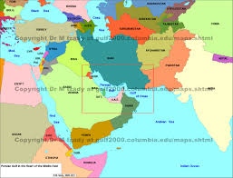 mid east map middle east maps the gulf 2000 project sipa columbia