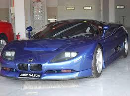 bmw car uk bmw italdesign nazca v12 prototype 1 of only 3 build for
