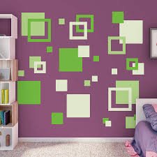 wall decals squares color walls your house