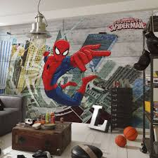 ultimate spiderman wallpaper great kidsbedrooms the children home ultimate spiderman wallpaper