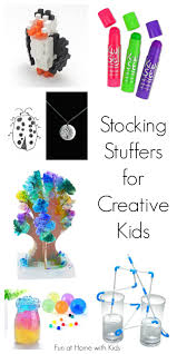 unique stocking stuffer ideas for creative kids