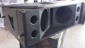 empty 15 inch speaker cabinets 8inch two way line array empty line array box buy 8inch two way