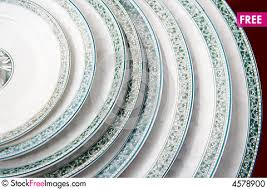 a pile of plates on sale free stock photos images 4578900