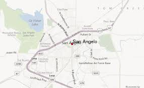 map of san angelo san angelo weather forecast