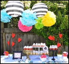 Alice In Wonderland Baby Shower Decorations - bn black book of parties alice in wonderland party
