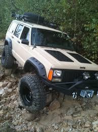 jeep cherokee green 2000 jeep cherokee hood louvers xj hood louvers hyline offroad