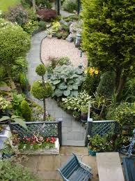Small Garden Designs Ideas by Narrow Garden Design Curved Pathways Add Interest To A Long
