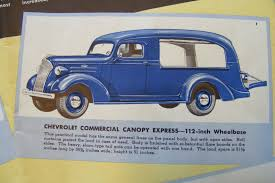 Pickup Canopy For Sale by Stored For 30 Years 1937 Chevrolet Canopy Express