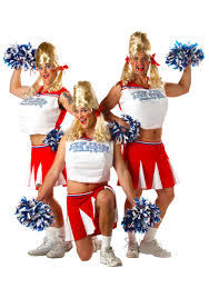 Funny Costumes Adults U0026 Kids Creative Red White Blue Mens Cheerleader Costume