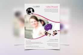 15 incomparable wedding flyer templates