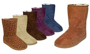 groupon s boots dawgs s mid calf microfiber boots groupon