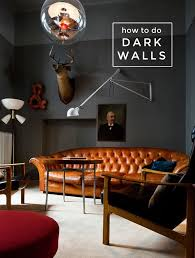 dark walls how to achieve the dark wall look the interior collective